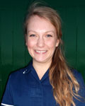 Emily Schmaltz, vet at Joel Veterinary Clinic